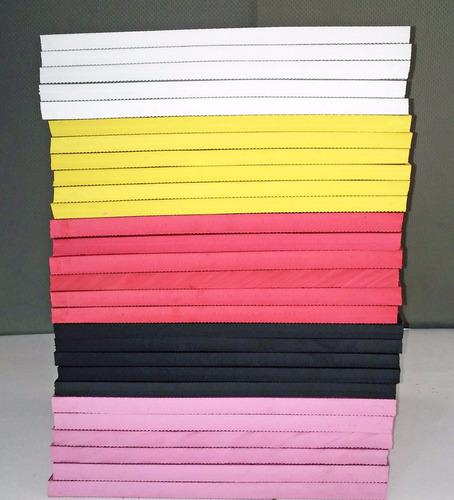 30 placas de borracha para chinelo tipo havaianas 30x24cm