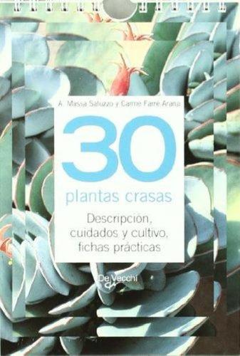 30 plantas crasas - fichas practicas, massa saluzzo, vecchi