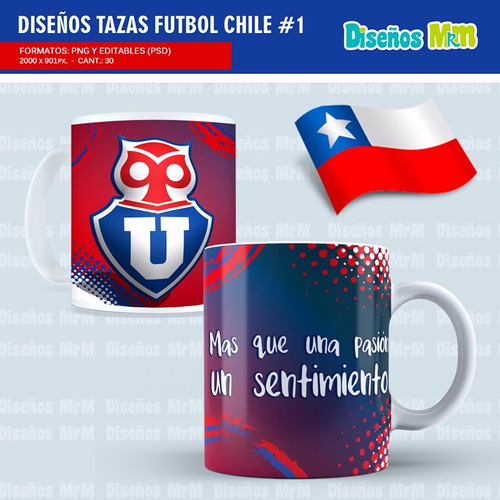 30 plantillas de futbol de equipos de chile primera division