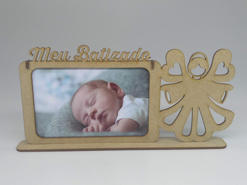 30 porta retrato foto 10x15 lembrancinha batismo batizado
