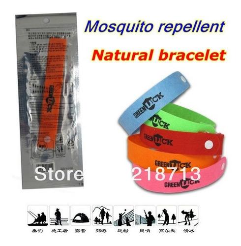 30 pulseiras repelente até 48hs de proteção - frete grátis