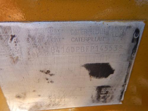 30) retroexcavadora 4x2 cat 416 d 2005
