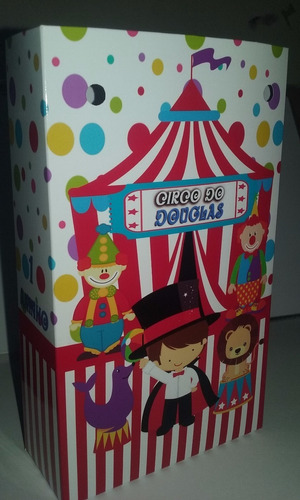 30 sacolinhas personalizadas - circo infantil - festa