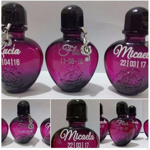 30 souvenirs perfumes 15 años bodas eventos cumpleaños