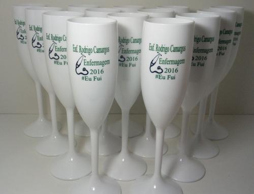 30 taças acrílico personalizadas formatura medicina direito