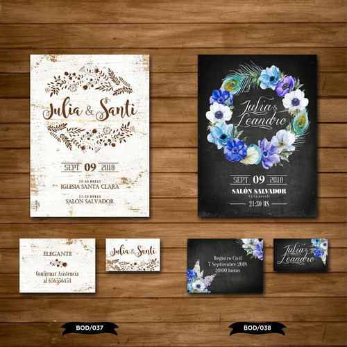 30 tarjetas invitaciones casamientos 15 años / con sobre!