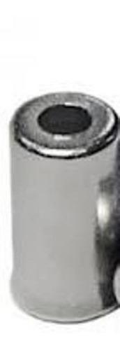 30 terminais conduite de freio 5mm x 10mm aço cromado