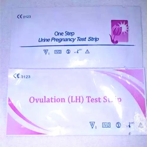 30 testes de ovulação + surpresa para tentante