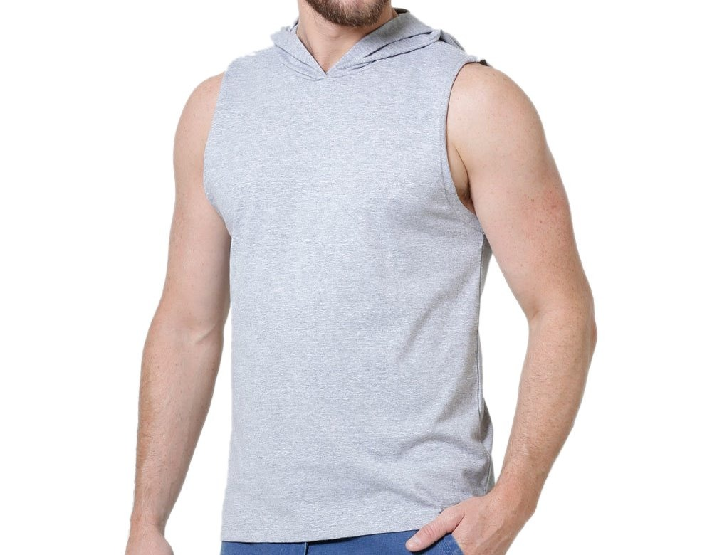 Carregando zoom... 30 un. camiseta regata machão capuz ... c25921b16f2