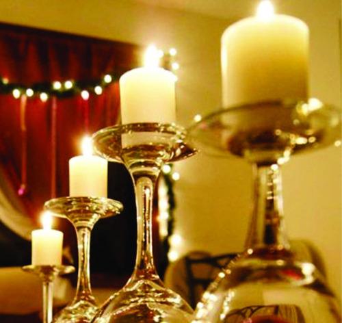 30 velas rechaud grande duração 20horas decoração casamento