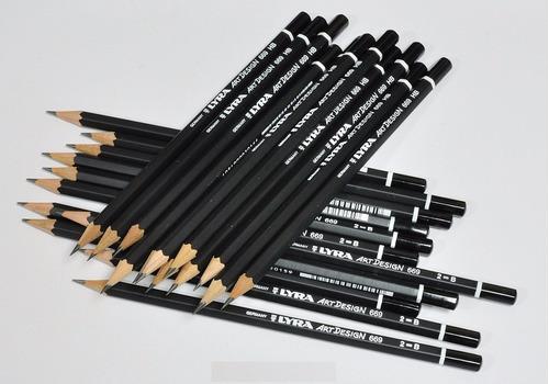 30 x lápis graduado profissional lyra art design *escolha*