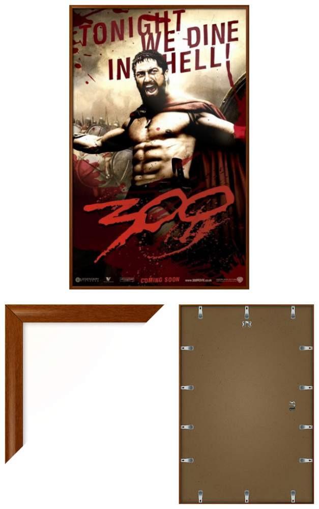 300 - Cartel De La Película Enmarcado /... (york Cher.) - $ 80.990 ...