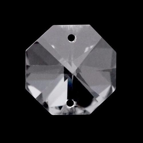 300 cristais castanha italiana com 2 furos para lustres