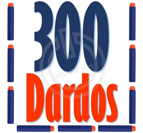 300 dardos de repuesto compatibles para nerf n-strike elite