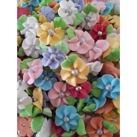 300 Flores De Azúcar Para Decorar Pasteles, Cupcakes Etc