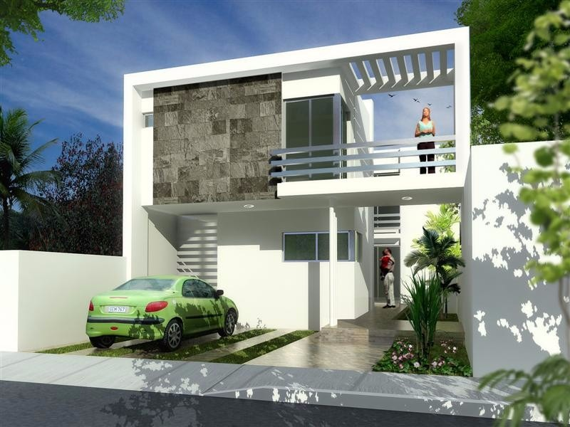 300 im genes de fachadas de casa y 300 planos de casas for Planos y fachadas de casas modernas