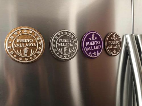 300 imanes para refrigerador con repujado para souvenir