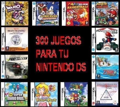300 Juegos Digitales Para Nintendo Ds Dsi Y Dsixl Bs 1 250 00 En