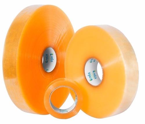 300 metros cinta tirro transparente embalar rela promocion