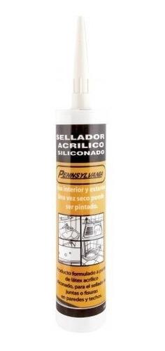 300 ml silicona sellador acrilico pintable!
