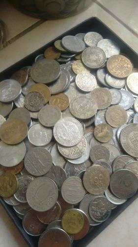 300 moedas antigas (prata,bronze,níquel,aço)- frete grátis