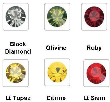 300 pcs cristal / piedra swarovski. 100% original