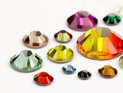 300 pcs cristal piedra swarovski 100 original 195 for Unas con piedras swarovski