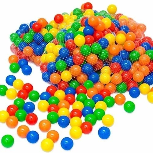 300 pelotas para piscina paquete colores excelente calidad