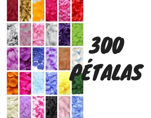 300 pétalas rosas flor artificiais seda várias cores decora