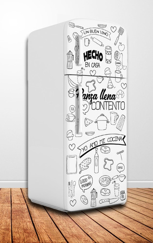 300 vectores diseños heladera pack 1º