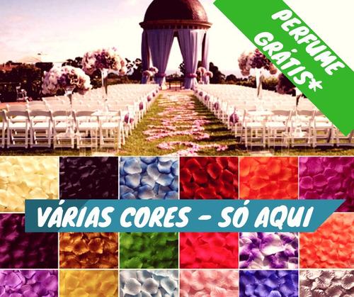 3000 promo pétalas rosa artificiais namorados várias cores