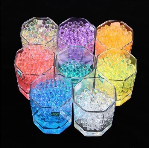 3000 unids/bolsa perla  forma de cristal gel bio hidrogel