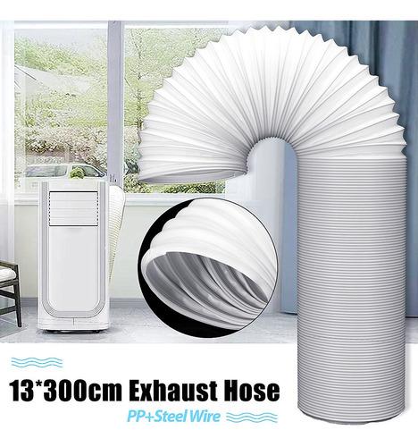 300cm flexible aire acondicionado pieza de repuesto manguera