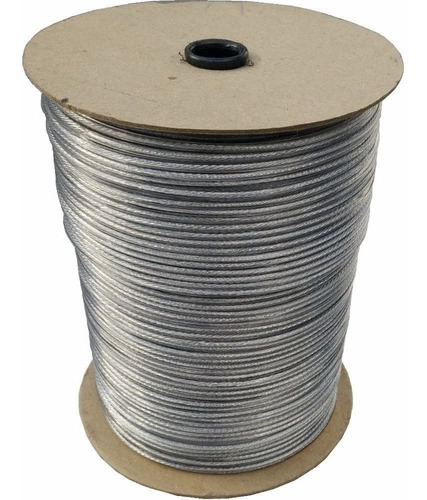 300m cable acero forrado pvc cristal - tendedero tender ropa - resiste lluvia y sol - hay stock