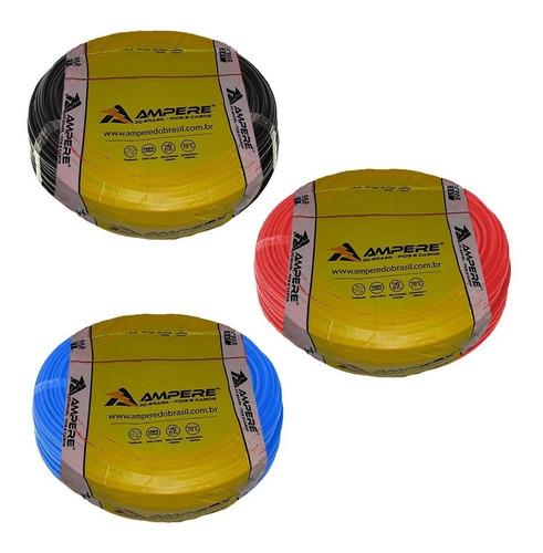 300m fio cabo eletrico flexível 2.5mm ampere full