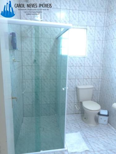 3015- linda casa com piscina em mongaguá!