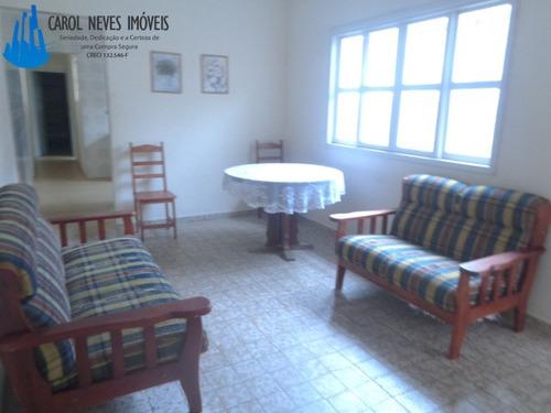 3018- excelente casa lado praia em mongaguá