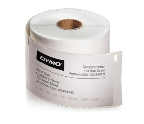 30252 | etiquetas blancas | dymo 450 | 28x89mm x 350 und