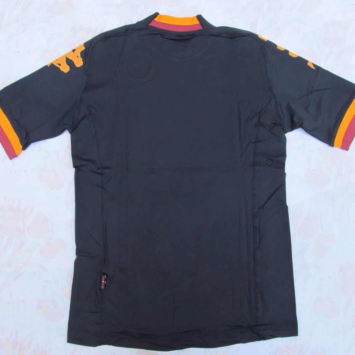 f4714e2c8e 302pg80 Camisa Kappa Roma Third 12 13 G Jogador Fn1608 - R  1.499