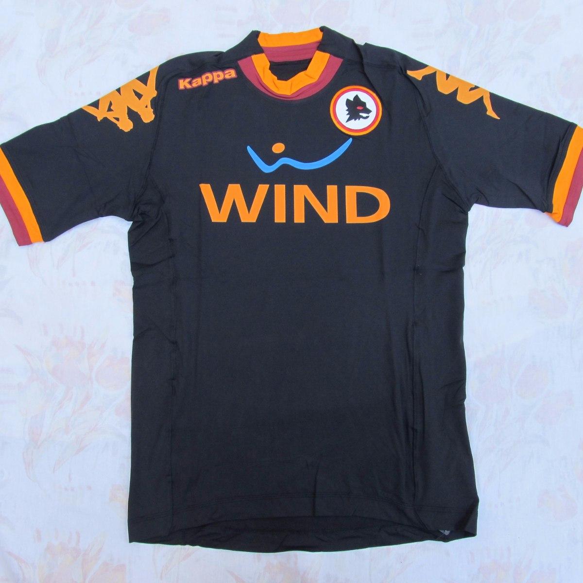 740c87600e 302pg80 Camisa Kappa Roma Third 12 13 G Jogador Fn1608 - R  1.499