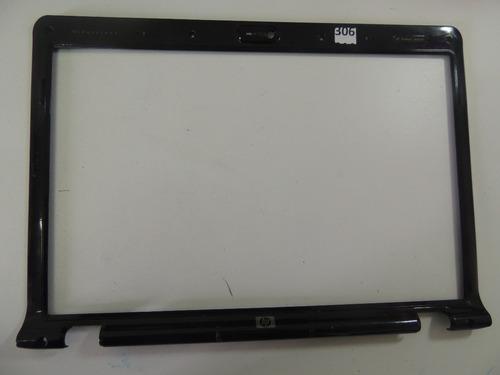 306 - moldura da tela para notebook hp dv 2000