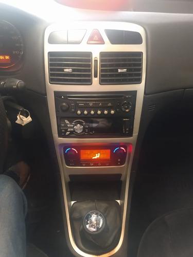 307 sedan feline 2.0 flex  2007 preto completo confira !