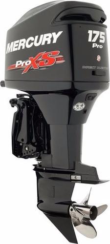 30%entr + 12x motor de popa 175 hp mercury 2 t pro xs novo