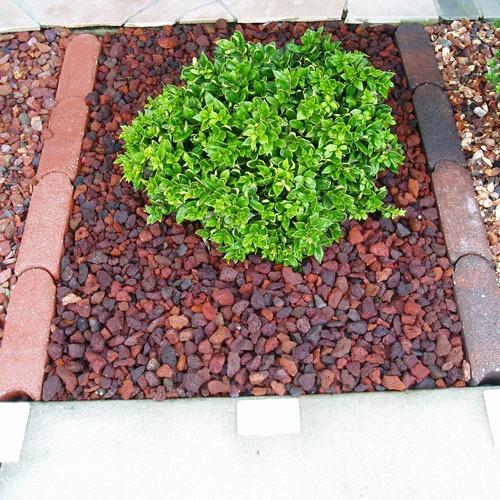 30kg piedra volc nica roja jardin en mercado libre for Piedra volcanica para jardin