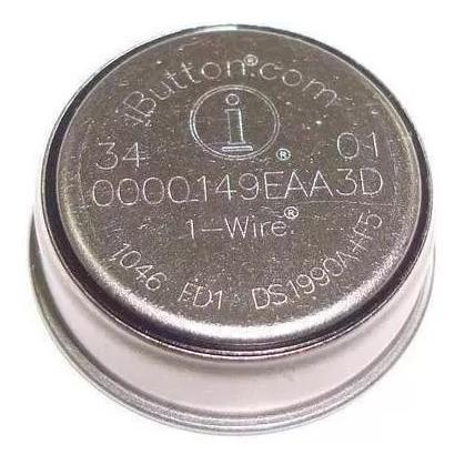 30pç - ibutton ds1990a-f5 - controle de ronda tipo chaveiro