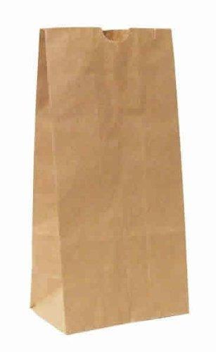 30pc papel kraft almuerzo bolsas