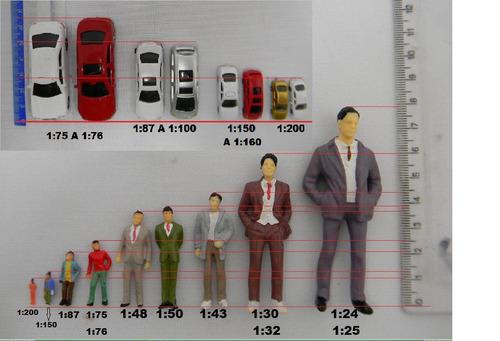 30pçs carros, arvores, figuras esc 1:200 arquitetura maquete