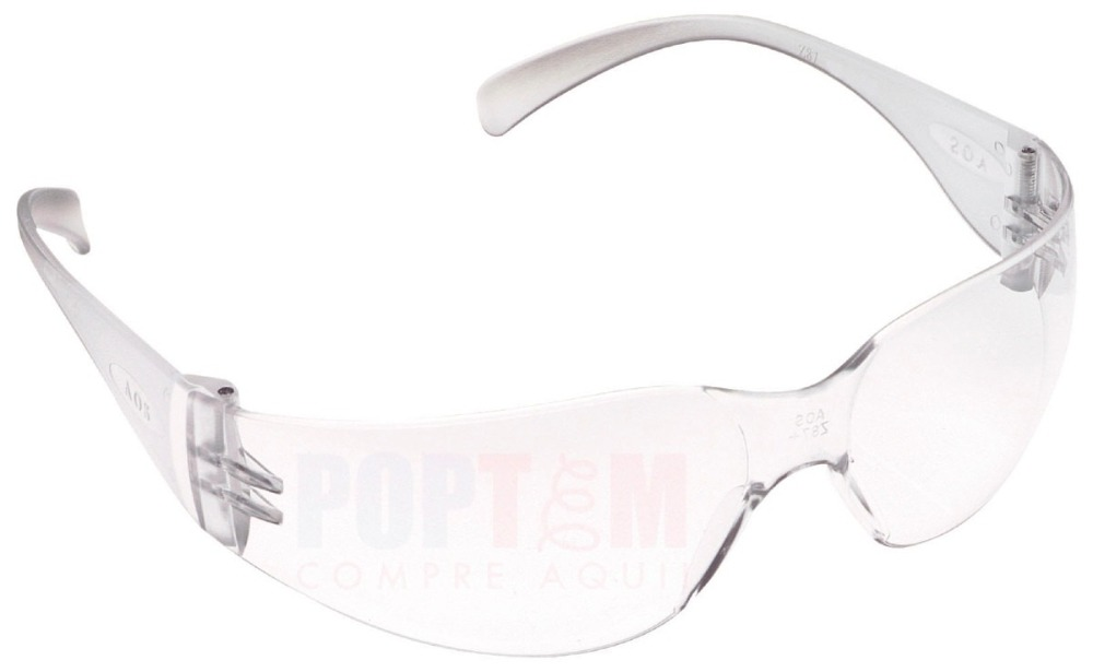 23636f7c1b06f 30x Óculos Segurança Epi 3m Virtua Incolor Proteção Trabalho - R  186