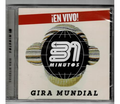 31 minutos: gira mundial ( cd sellado)