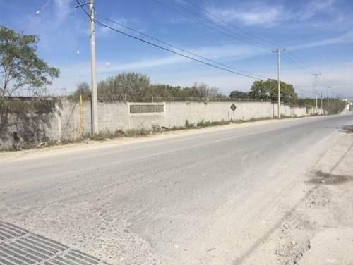 310710-ttv terreno comercial plano, en carretera monterrey cadereyta km 20, entre calle privada prim